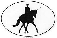 Dressage/Sidepass Decal