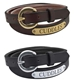 SHOW BELT - AMERICAN MADE -PADDED- LEATHER - BE100