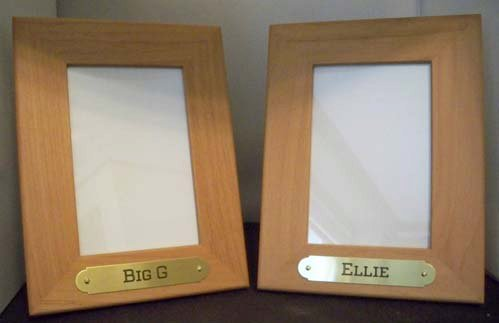 RED ALDER & SOLID WALNUT FRAMES