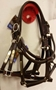 TRACK STYLE TURNOUT HALTER - 4 STYLES - BRASS AND CHROME