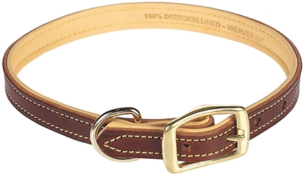 WEAVER PADDED LEATHER COLLAR