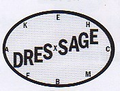 Dressage Ring Decal