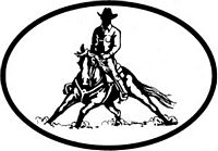 Cow Horse/Cutting Decal