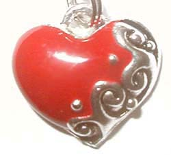 Red Heart Charm EC07