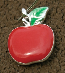 Red Apple Charm EC06